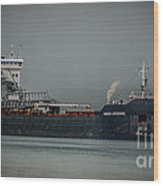 Canadian Enterprise Wood Print by Ronald Grogan