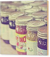 Canned Wood Print by Amy Tyler