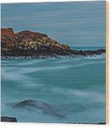 Cape Neddick Lighthouse Wood Print by Abe Pacana