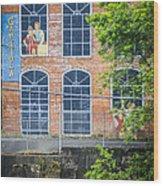 Capitola Cotton Yarn Mill Wood Print by Carolyn Marshall