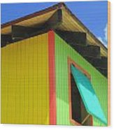 Caribbean Corner 2 Wood Print by Randall Weidner