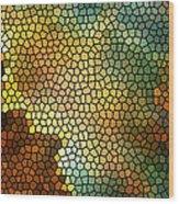 Carina Nebula Mosaic  Wood Print by Jennifer Rondinelli Reilly - Fine Art Photography