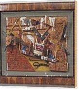 Carpenters Lament Wood Print by Bill Czappa