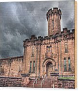 Castle Of Solitude Wood Print by Lori Deiter