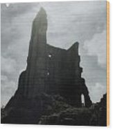 Castle Ruin Wood Print by Joana Kruse
