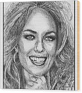 Catherine Bach In 1979 Wood Print by J McCombie