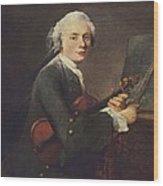 Chardin, Jean Baptiste Siméon Wood Print by Everett
