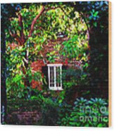 Charleston's Charm And Hidden Gems  Wood Print by Susanne Van Hulst