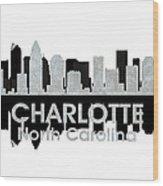 Charlotte Nc 4 Wood Print by Angelina Vick