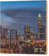 Charlotte North Carolina Wood Print by Brian Young