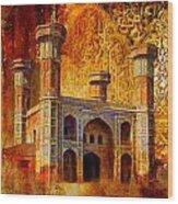 Chauburji Gate Wood Print by Catf