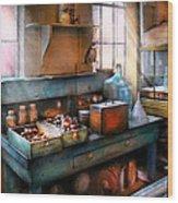 Chemist - Making Glue Wood Print by Mike Savad