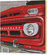 Chevy Beaumont Fire Museum Tx Wood Print by Christine Till