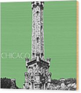 Chicago Water Tower - Apple Wood Print by DB Artist