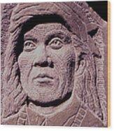 Chief-cochise-2 Wood Print by Gordon Punt