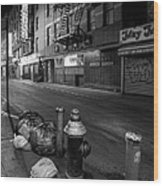 Chinatown New York City - Joe's Ginger On Pell Street Wood Print by Gary Heller