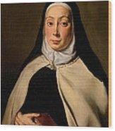 Cignani Carlo, Portrait Of A Nun, 17th Wood Print by Everett