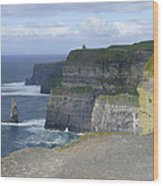 Cliffs Of Moher 4 Wood Print by Mike McGlothlen