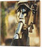 Clone Trooper Wood Print by Micah May