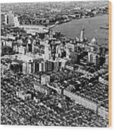 Cnac Douglas Over Shanghai In 1937 Wood Print by Retro Images Archive