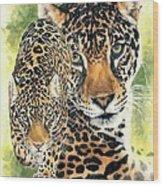 Compelling Wood Print by Barbara Keith