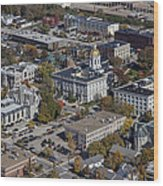 Concord, New Hampshire Nh Wood Print by Dave Cleaveland