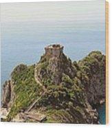 Concu Dei Marini Amalfi Wood Print by Marilyn Dunlap