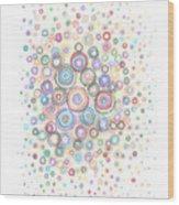 Convexity Wood Print by Regina Valluzzi