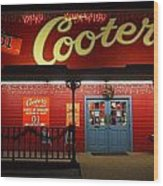 Cooters At Christmas Wood Print by Dan Sproul