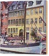 Copenhagen Wood Print by Jeff Kolker