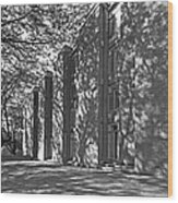 Cornell College Tarr Hall Wood Print by University Icons