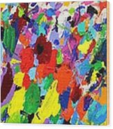 Cornucopia Of Colour I Wood Print by John  Nolan