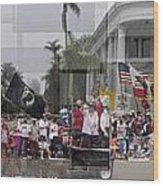 Coronado Fourth Of July Parade Wood Print by Stephen Farley
