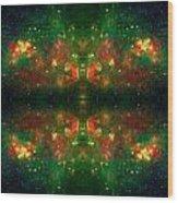 Cosmic Kaleidoscope 3 Wood Print by Jennifer Rondinelli Reilly - Fine Art Photography