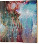 Cosmic String Wood Print by Linda Sannuti