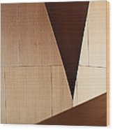 Counterpoint Wood Print by Rona Black