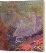 Creative Sounds Digital Banjo And Guitar Art By Steven Langston Wood Print by Steven Lebron Langston