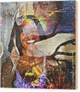 Creolization - Descendants Surviving Tribalism Wood Print by Fania Simon