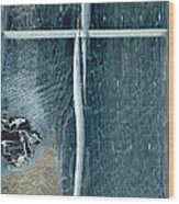 Cross2bear Wood Print by Tom Druin