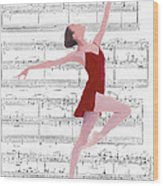Dance To The Music Wood Print by Steve K