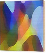 Dappled Light Wood Print by Amy Vangsgard