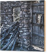 Days Gone By Wood Print by Heiko Koehrer-Wagner