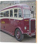 Dennis Lancet Vintage Bus Wood Print by Steev Stamford