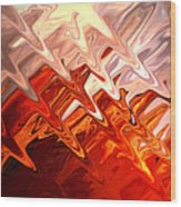 Desert Light Wood Print by Aidan Moran