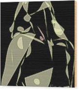 Desire For A ..... Celestial Love... Wood Print by Frank  Gulsftream