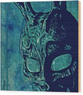 Donnie Darko Wood Print by Giuseppe Cristiano