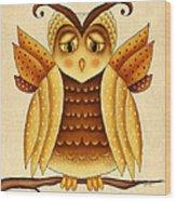 Dottie Wood Print by Brenda Bryant