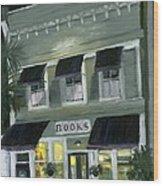 Downtown Books 11 Wood Print by Susan Richardson