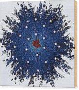Dual Citizenship 1 Wood Print by First Star Art
