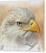 Eagle6 Wood Print by Marty Koch